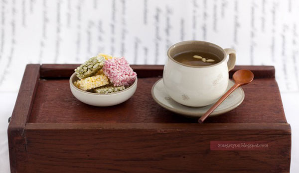 Koreańska miodowa herbata z kumkwatów