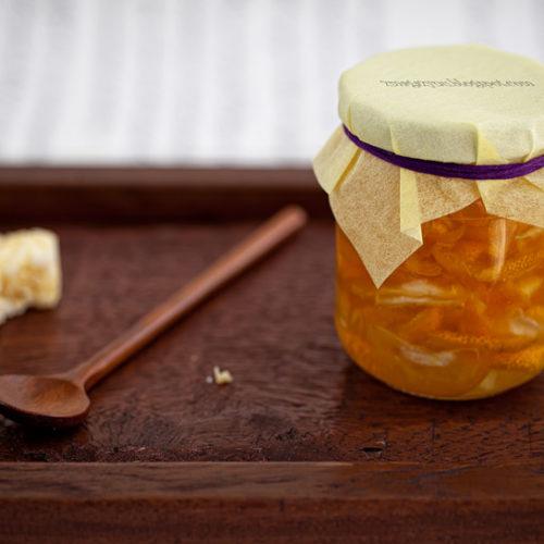 Miodowa herbata z kumkwatów