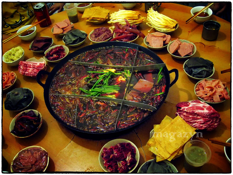 Hot pot z Chongqing