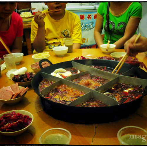 Hot pot - choiński gorący kociołek