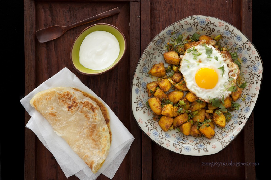 MK indyjskie ziemniaki