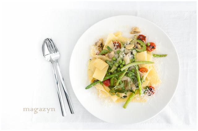 MK pasta primavera makaron z warzywami