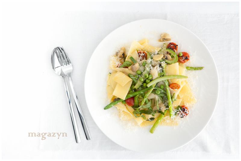 Pasta Primavera – wiosenny makaron z warzywami