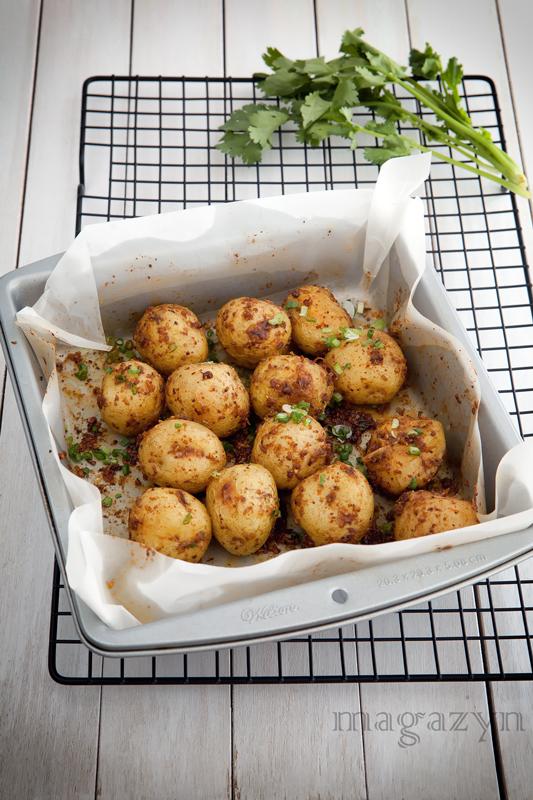 MK pieczone ziemniaki z kminem po chinsku