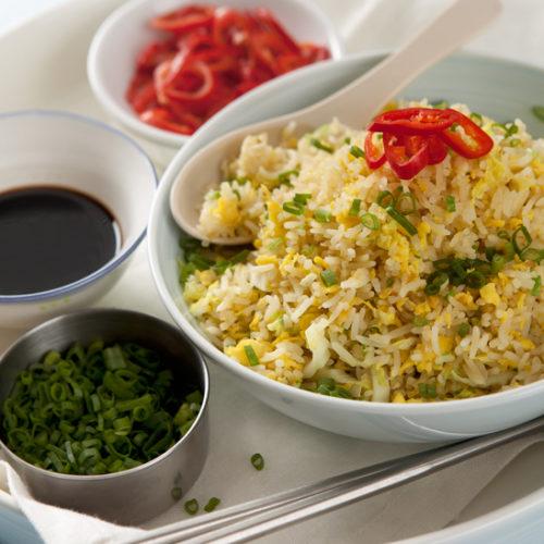 smażony ryż z jajkiem