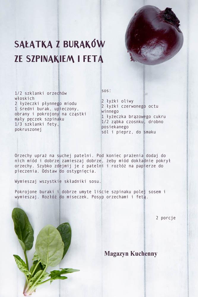 salatka-z-pieczonych-burakow-ze-szpinakiem-przepis