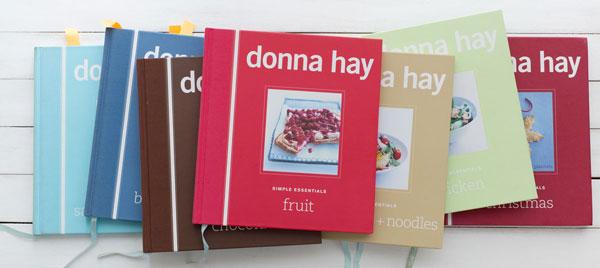 Dona Hay, Simple Essentials, książki z przepisami