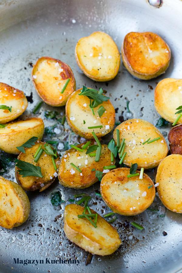 Chrupiące ziemniaki z octem