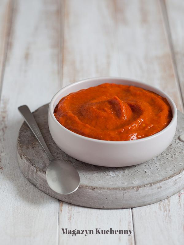 Ajwar – pasta z papryki i bakłażanów