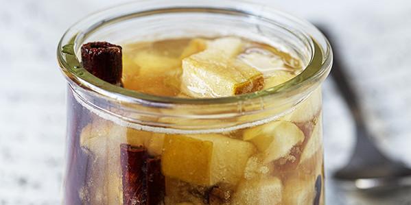 herbatka jabłkowa