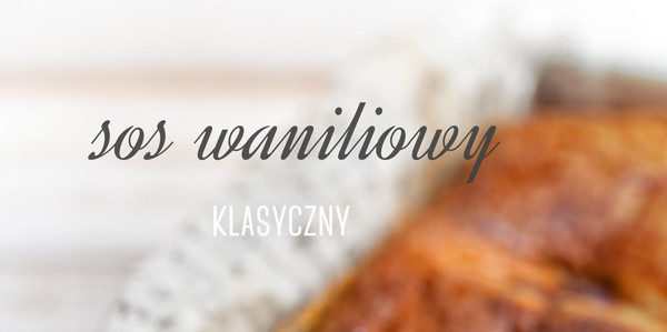 sos waniliowy