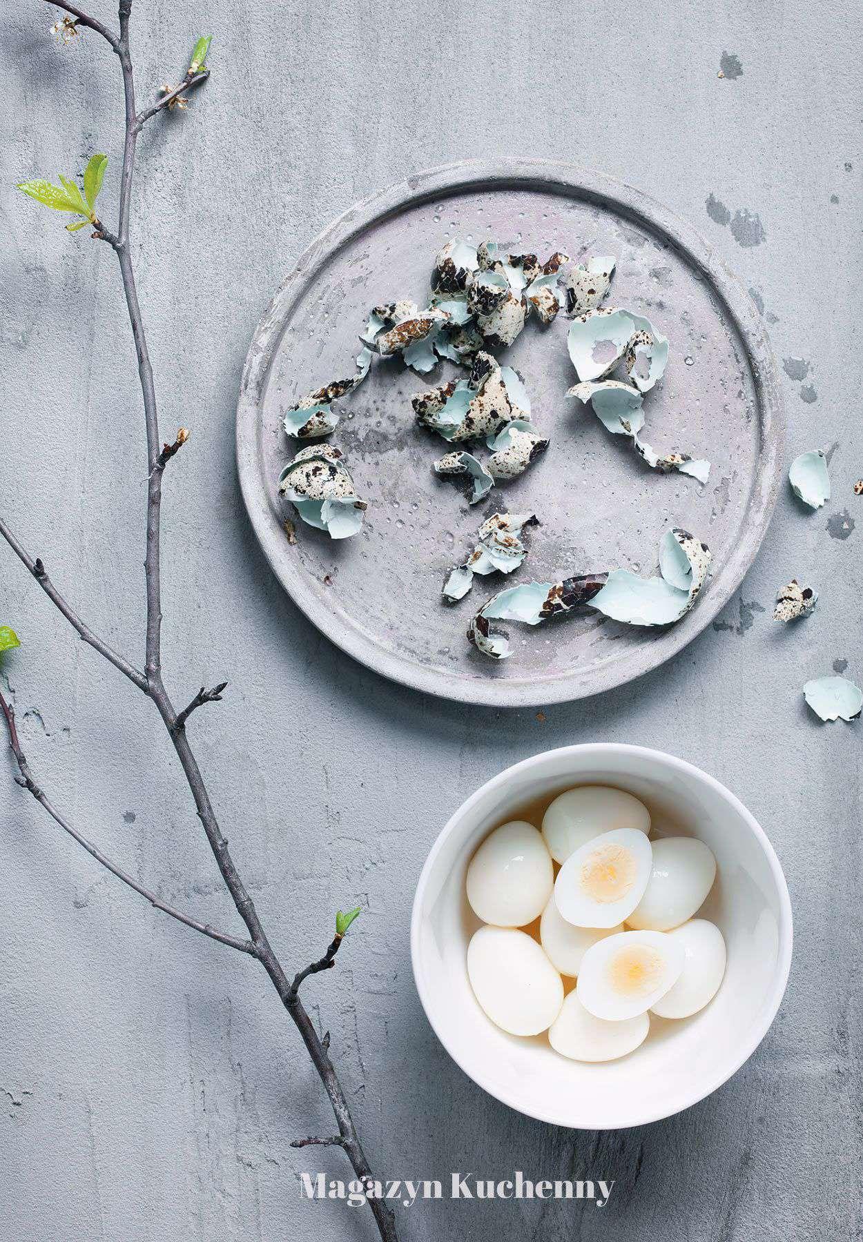 Jak ugotować jajka przepiórcze