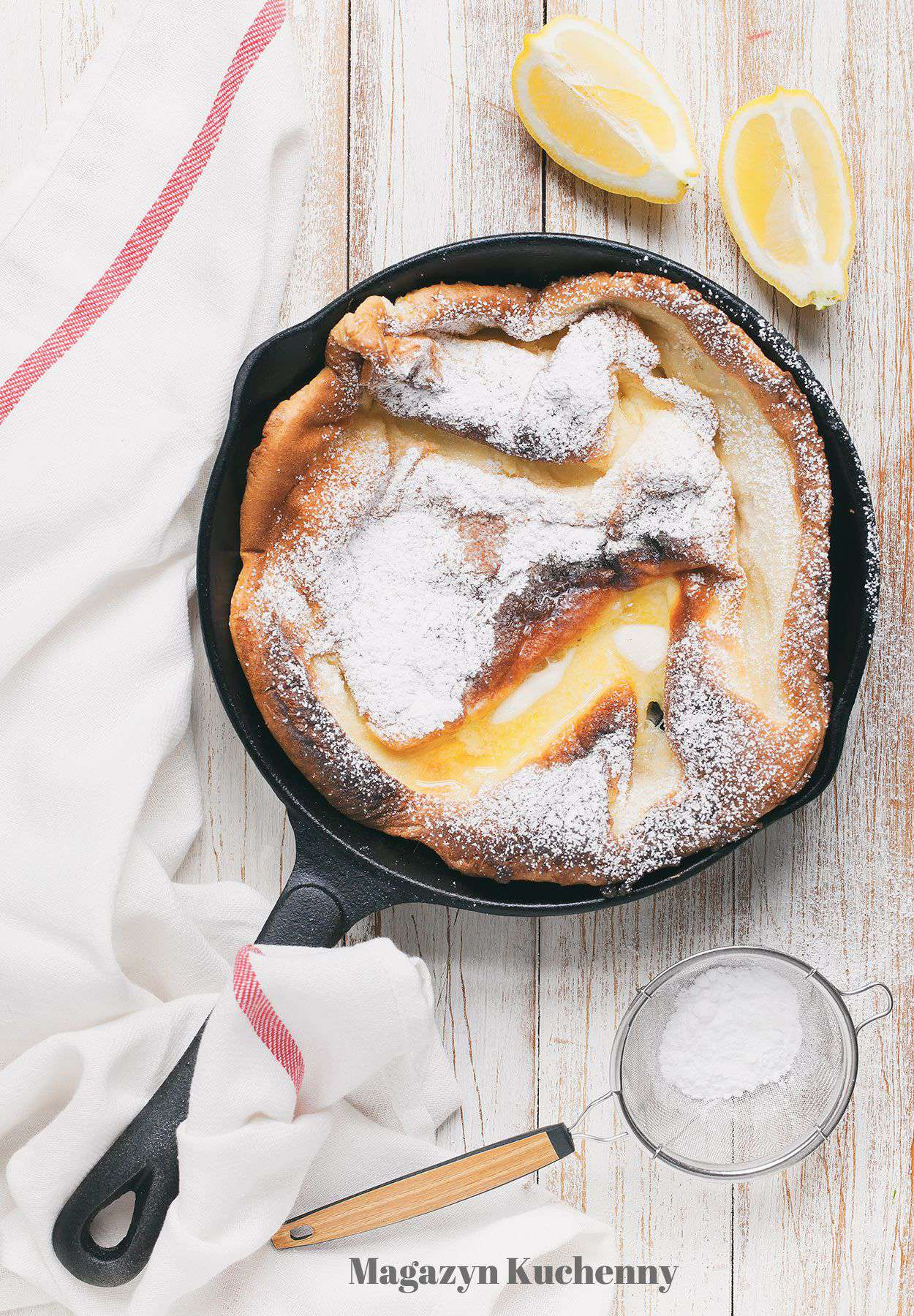 Dutch baby – pieczony naleśnik na słodko
