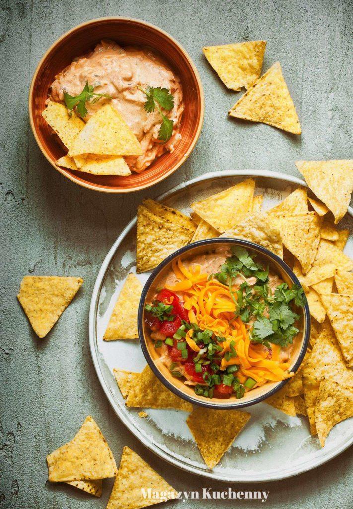Śmietankowy dip do nachos i chipsów