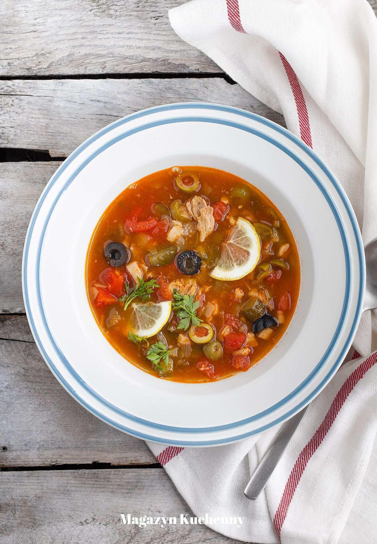 Solanka - ukraińska zupa (solianka)