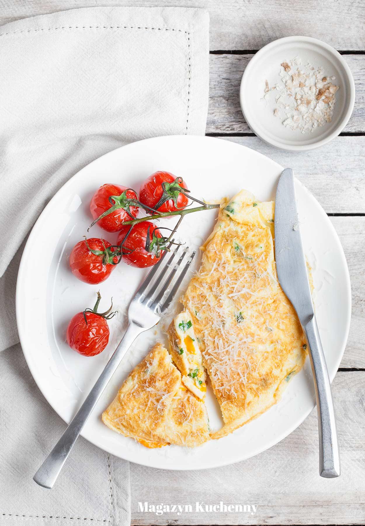 Omlet z serem – najprostszy przepis