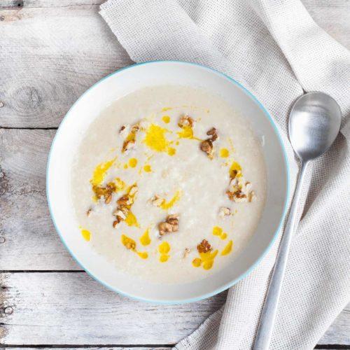 Zupa krem z kalafiora smażonego