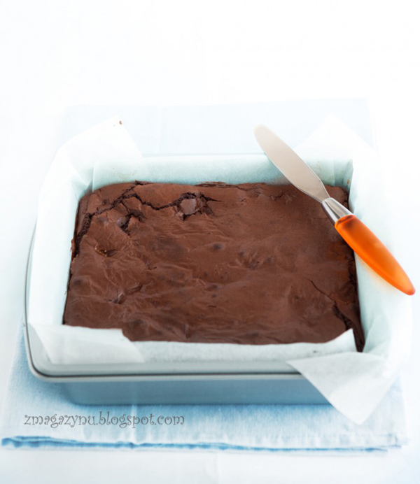 triple chocolate brownies Donna Hay