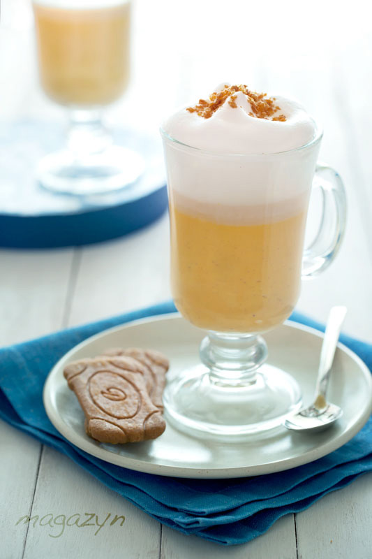 Dyniowa chai latte