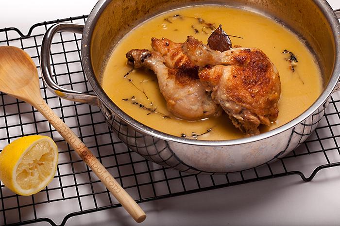 Cytrynowy kurczak z tymiankiem