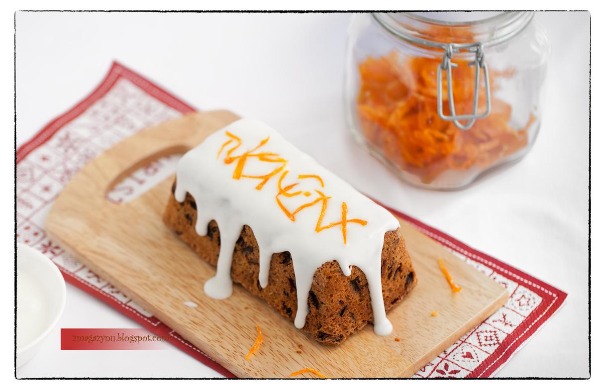 ciasto+z+rodzynkami+orzechami+wloskimi+i+skorka+pomaranczowa 3