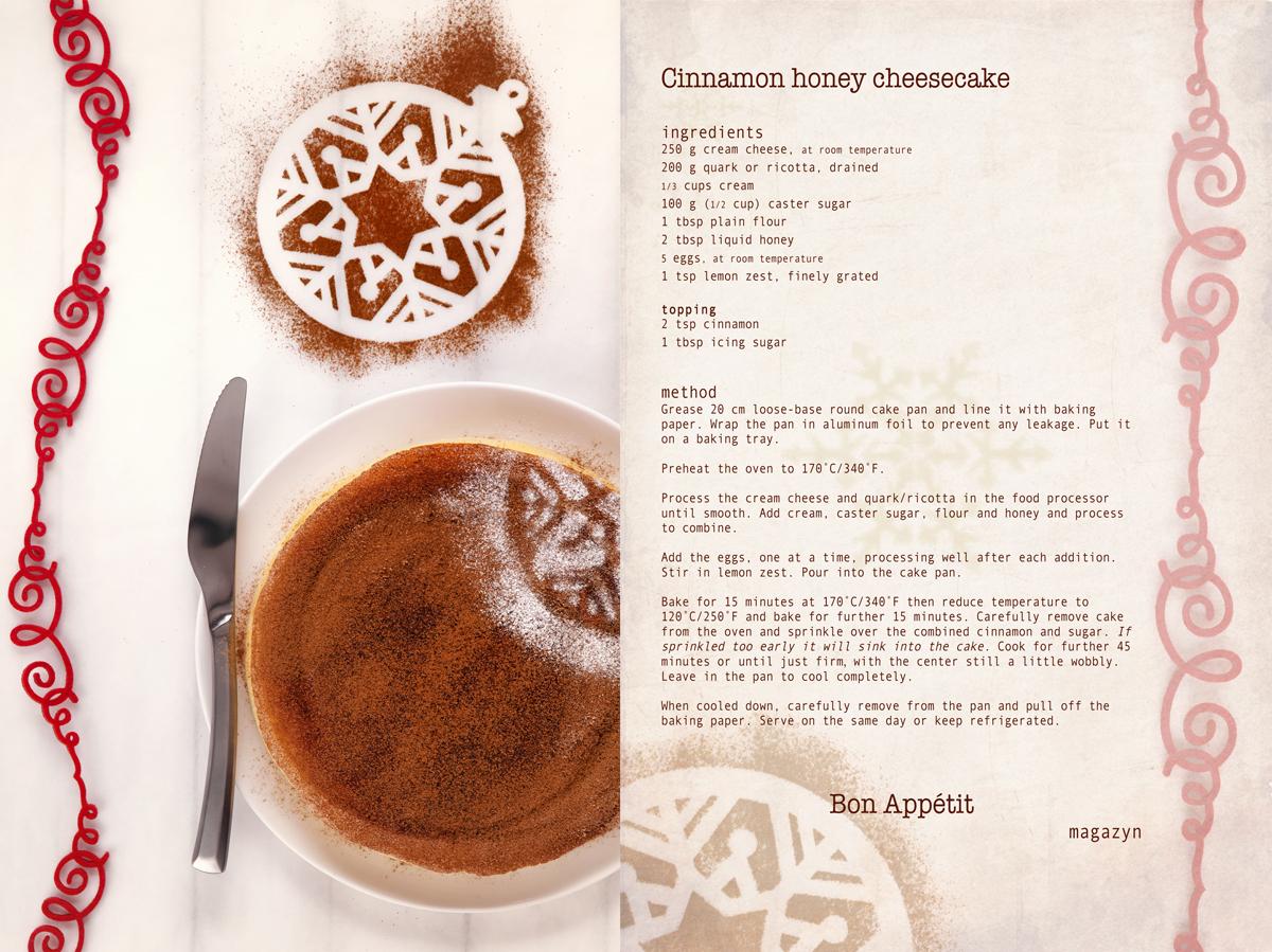 cinnamon+and+honey+baked+cheesecake+english+recipe