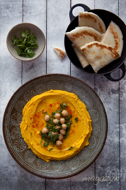 Hummus dyniowy