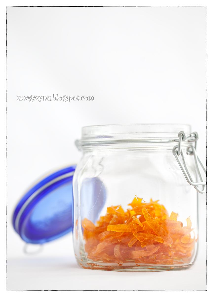 Kandyzowana skórka pomarańczowa