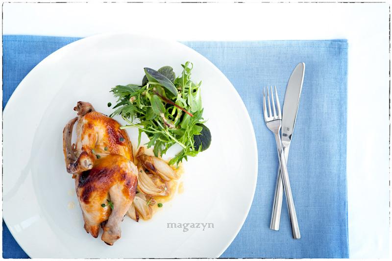 MK kurczak pieczony z miodem i octem balsamicznym