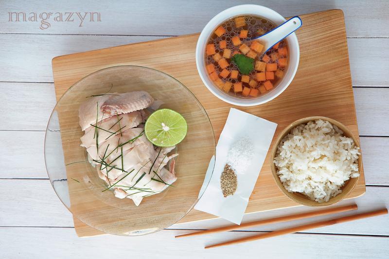 Wietnamski kurczak na zimno