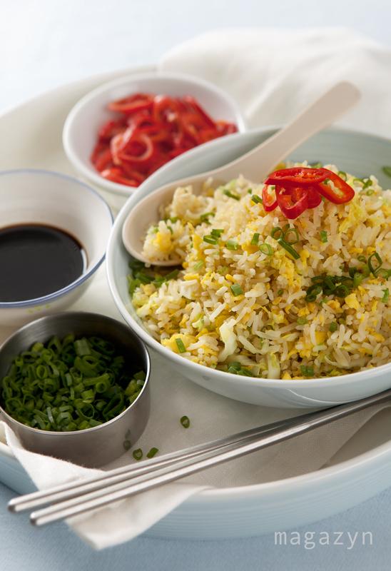 Smażony ryż z jajkiem – prosty przepis