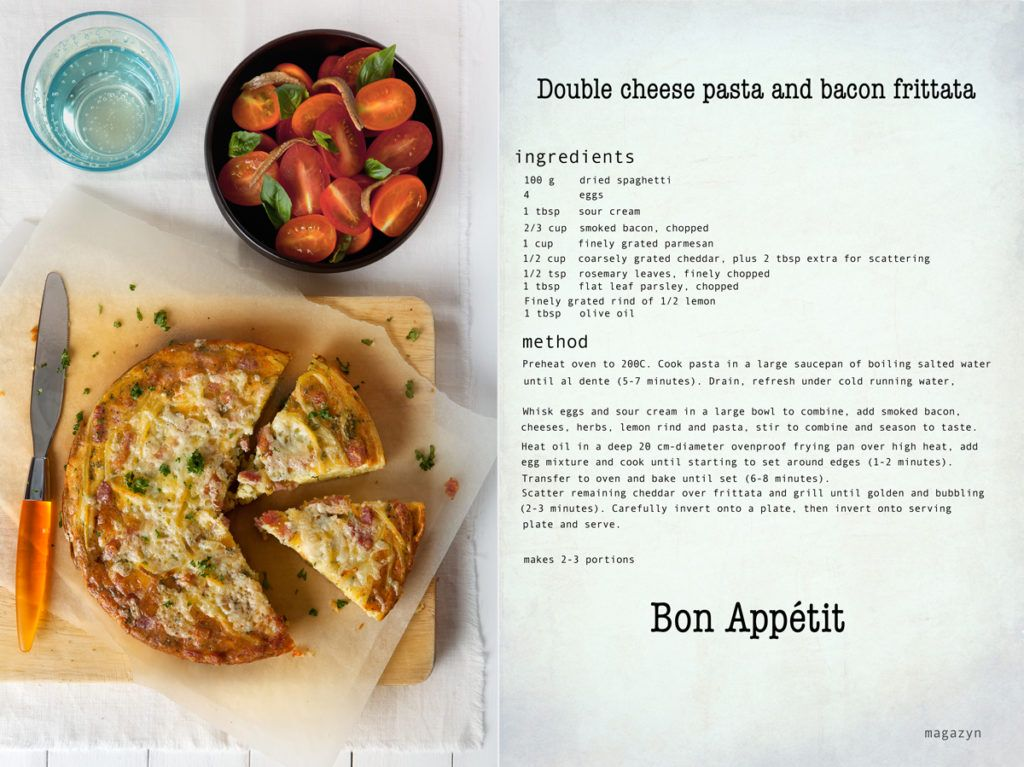 double+cheese+and+pasta+frittata+recipe+in+english