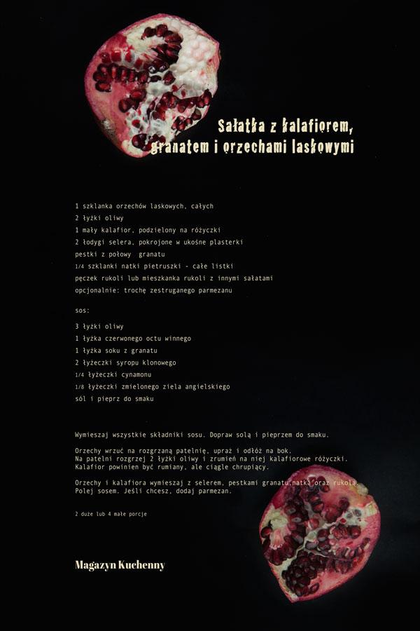 granat-salatka przepis
