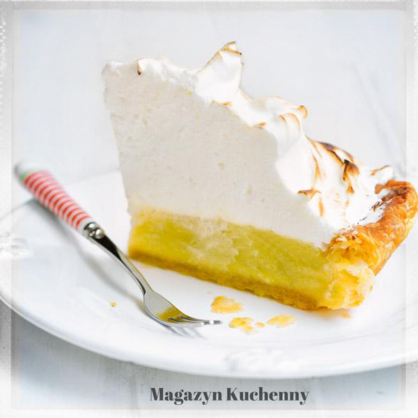 Paj limonkowy z bezą  (lime meringue pie)