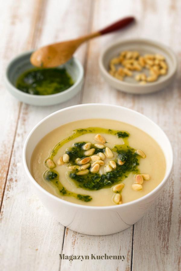 Zupa z selera i ziemniaków