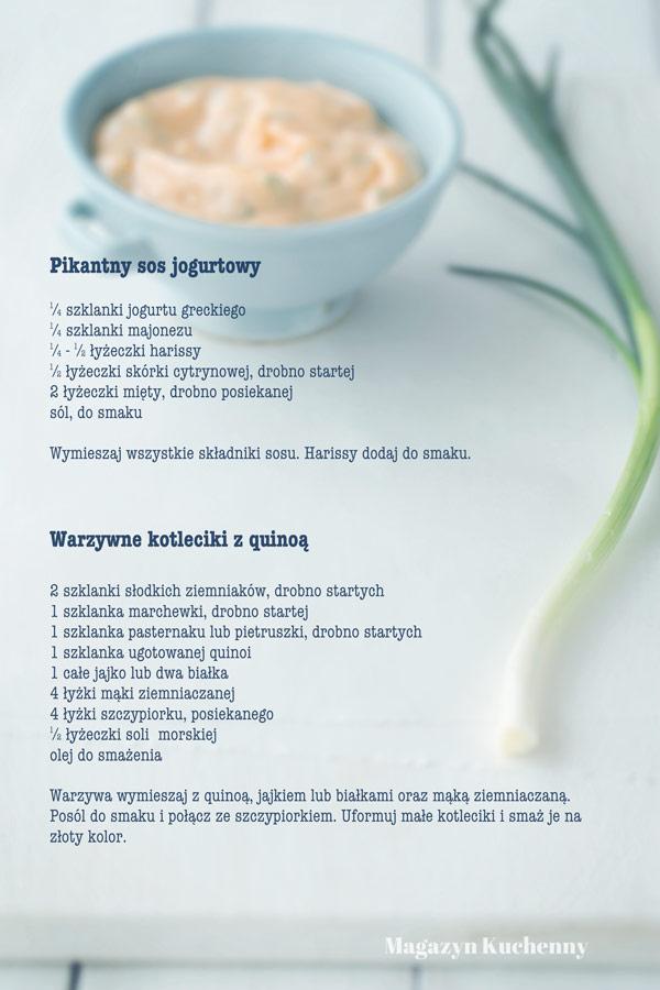 kotleciki-z-quinoa-i-sos-jogurtowy-przepis