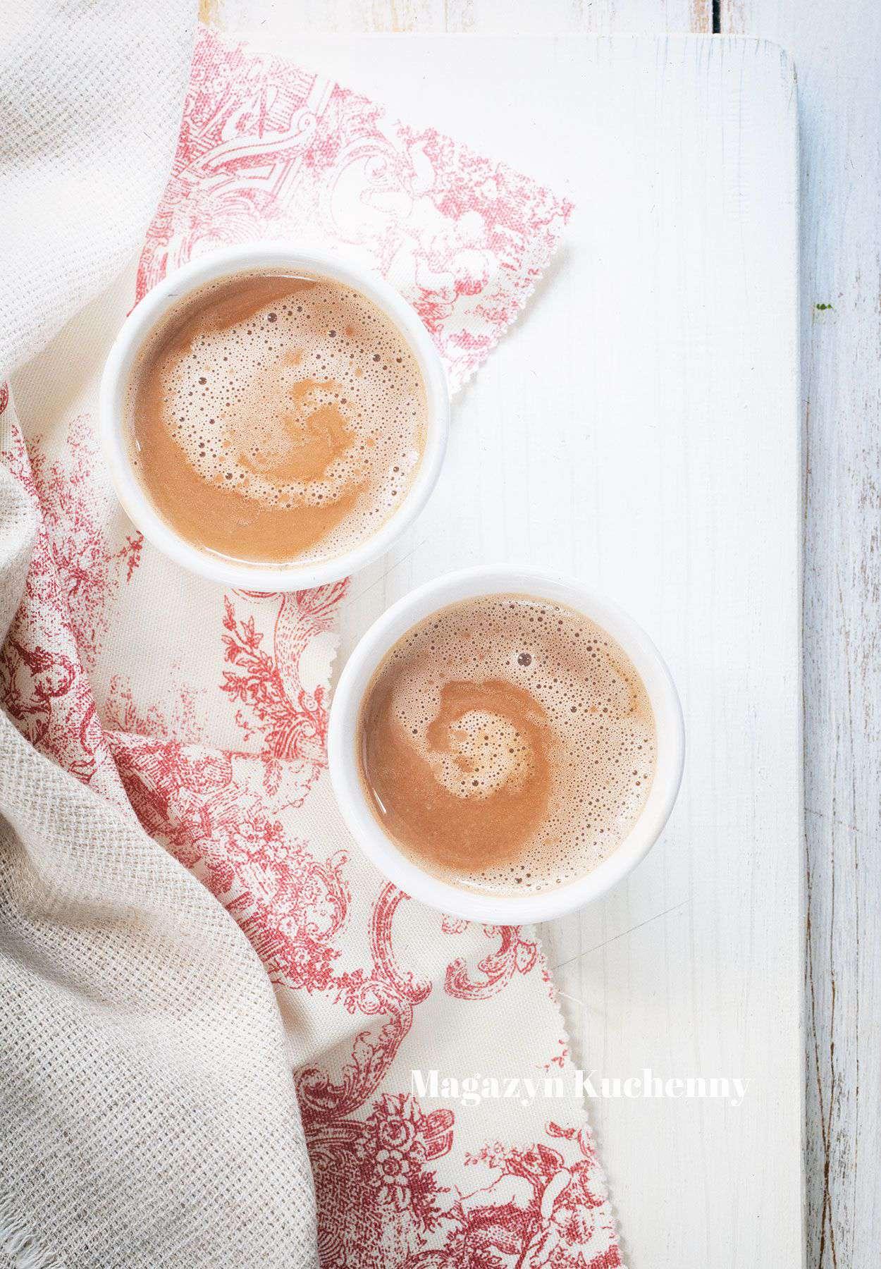 Czekolada sezamowa na gorąco – do picia
