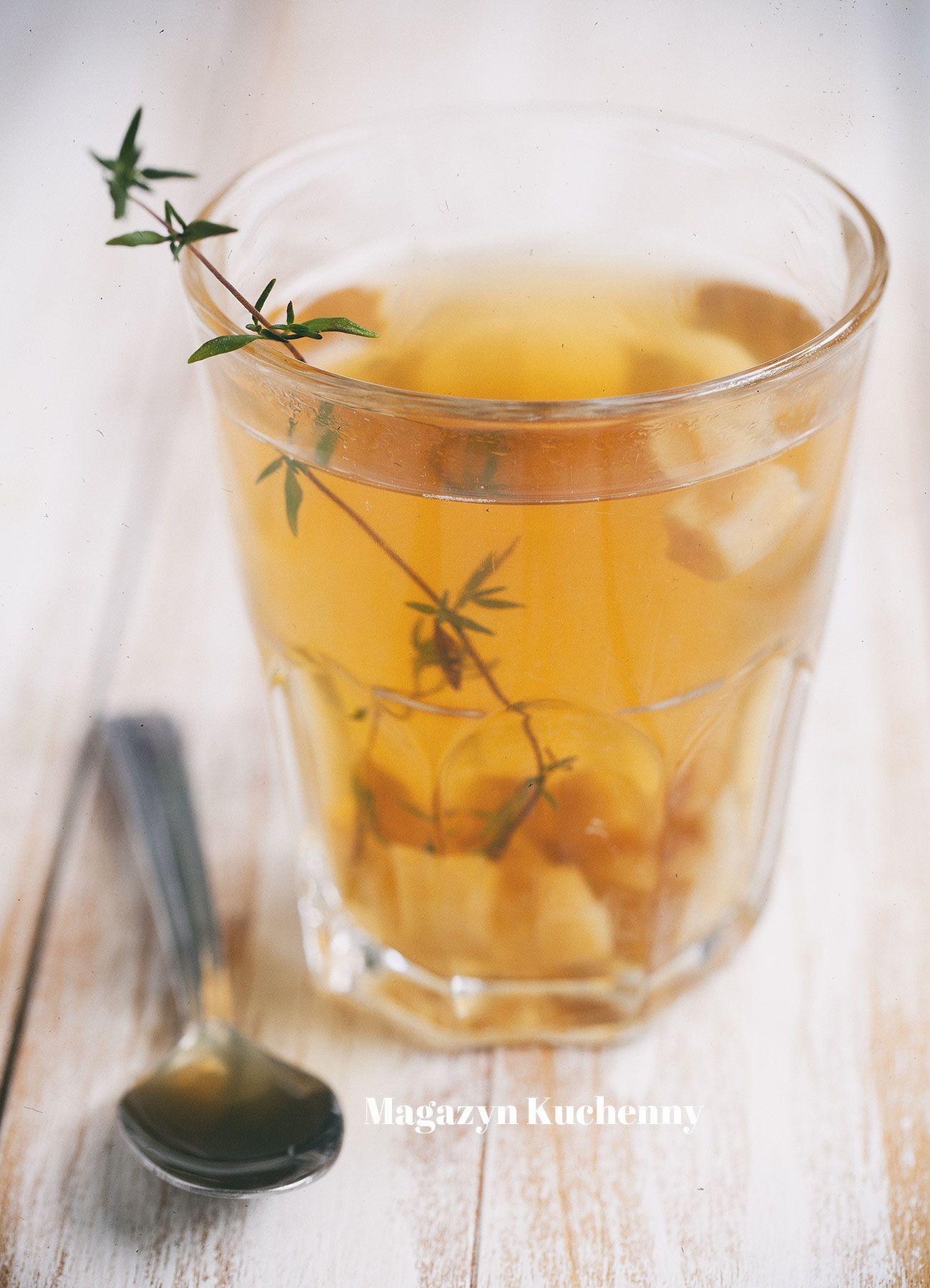 Herbatka rumiankowa z jabłkami – odprężająca, na dobry sen