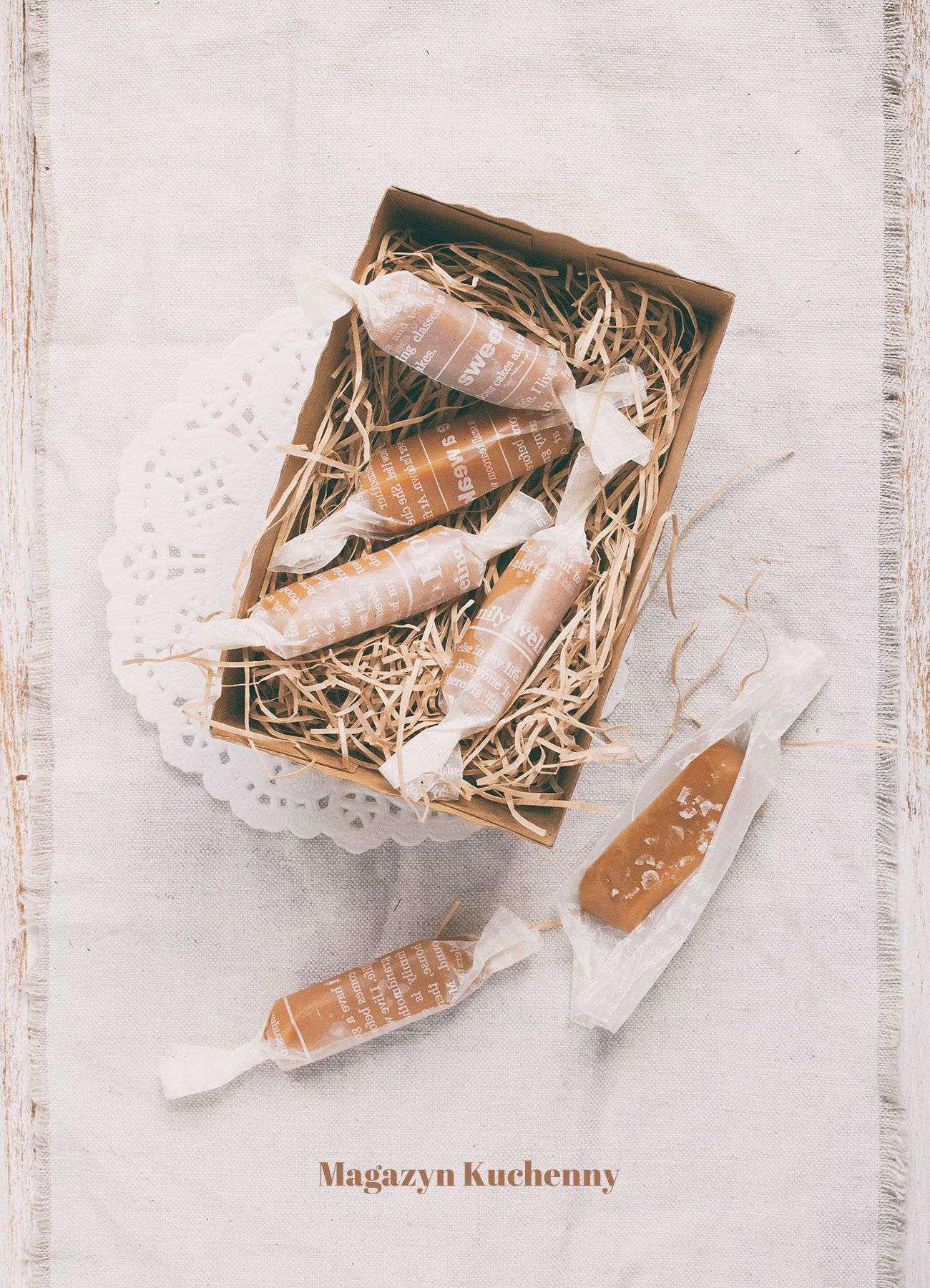 Domowe karmelki z miodem