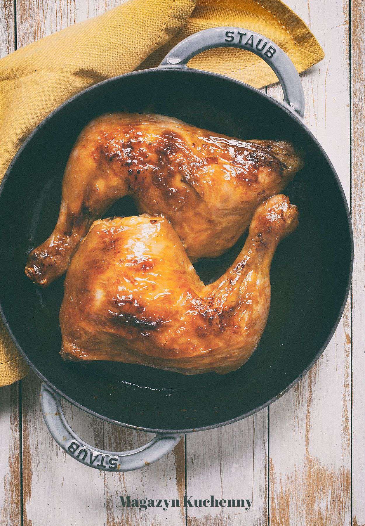 Kurczak w glazurze pomarańczowej